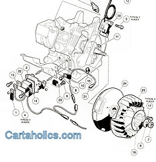 Club Golf Cartsgolf Cart Choice on 1990 club car gas wiring diagram