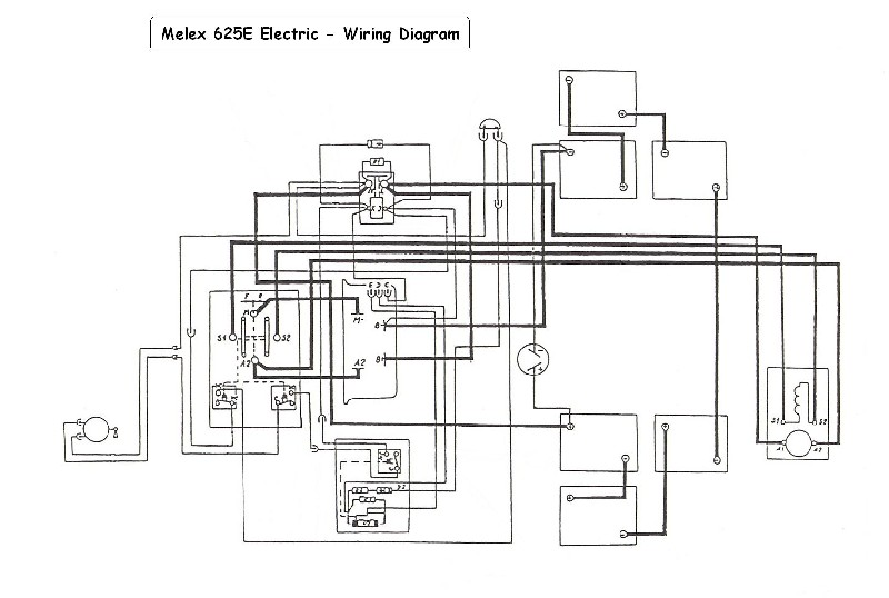 cartaholics golf cart forum gt melex 625e wiring diagram