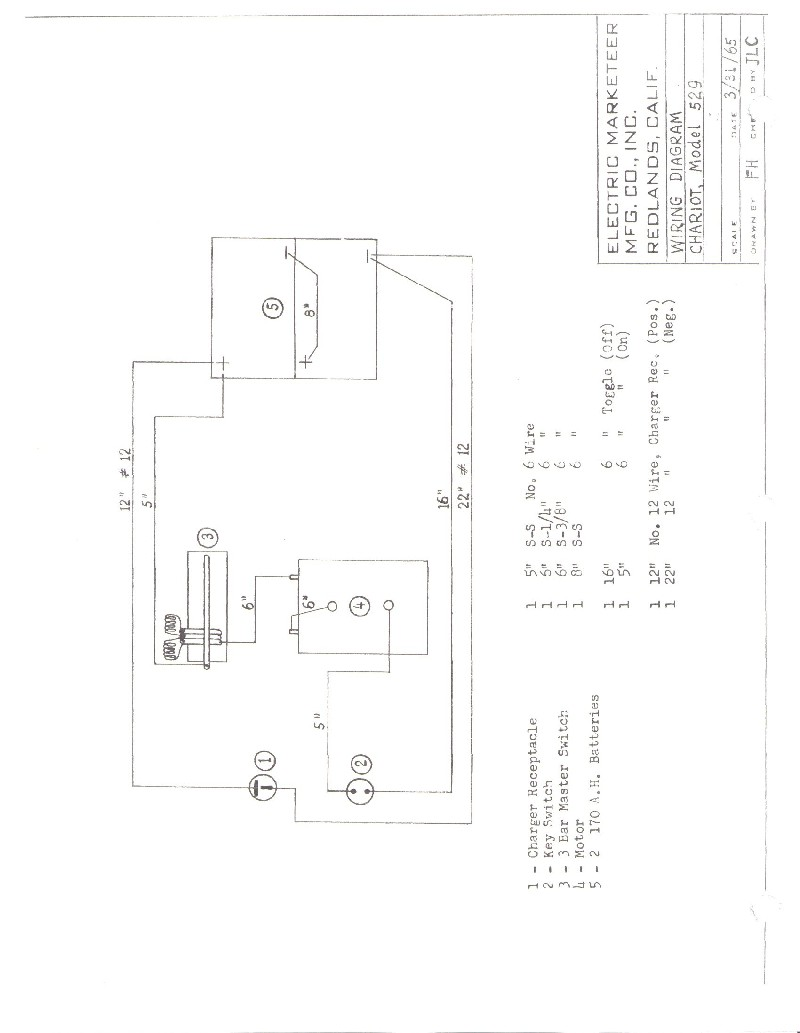 cartaholics golf cart forum  u0026gt  westinghouse marketeer wiring diagram