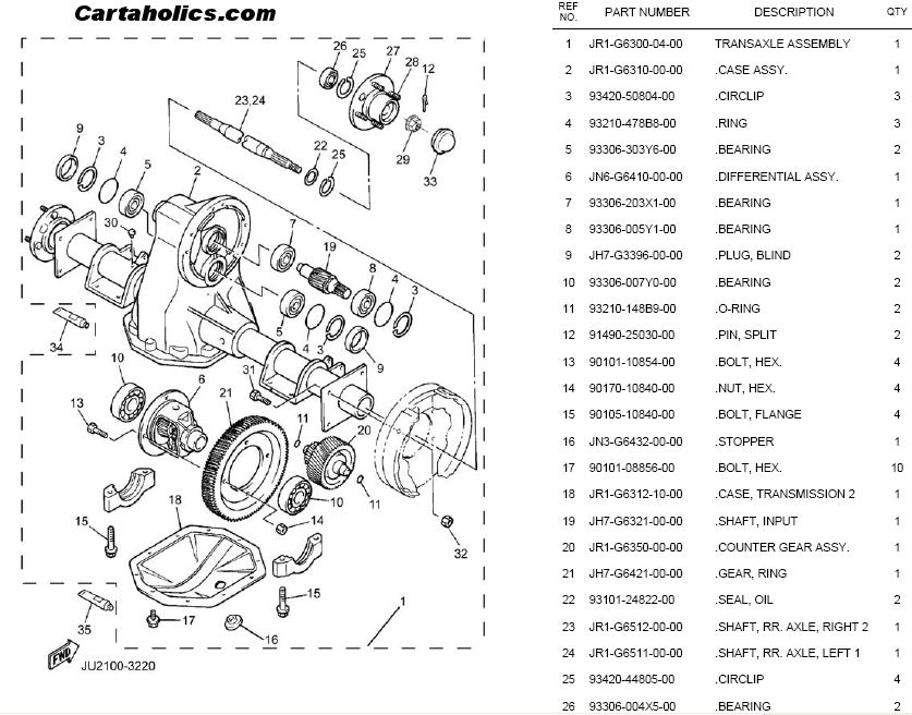 yamaha golf cart rear end parts diagram  yamaha  free