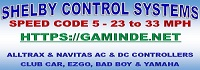 Shelby Control Systems - Golf Cart Controllers, Club Car Speed Code 5