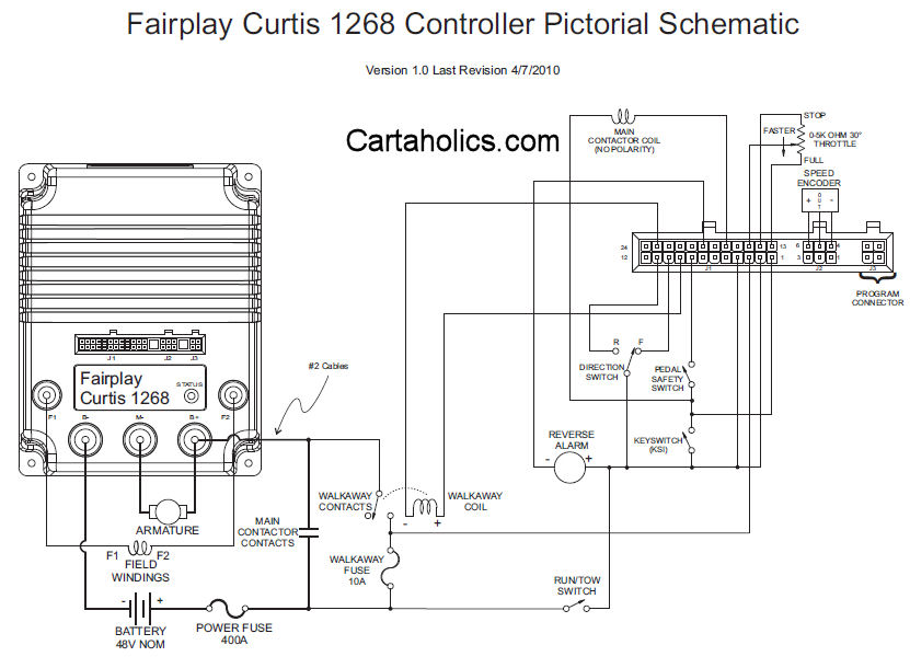 golf cart controller schematic all wiring diagram 12 Volt House Wiring Diagram