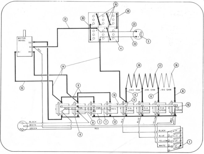 western golf car wiring diagram